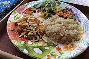 Thai shrimp with fish sauce & nuts – gluten & soy free