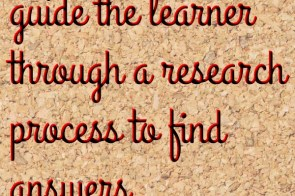WebQuests – guided Web research for PBL