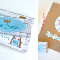 DIY Coloring Books and Crayon Boxes