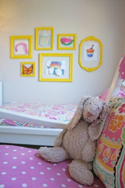 DIY Gallery Wall - Display Children's Art