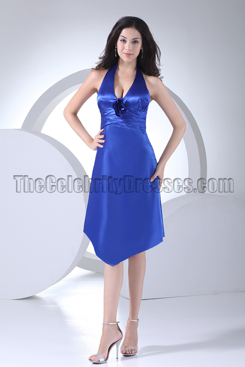 Ritzy Discount Royal Blue Halter Cocktail Bridesmaid Dresses Celebritydresses Discount Royal Blue Halter Cocktail Bridesmaid Dresses Royal Blue Bridesmaid Dresses Lace Royal Blue Bridesmaid Dresses Ne wedding dress Royal Blue Bridesmaid Dresses
