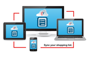 Favado Feature | Sync your Shopping List Between your Computer & Mobile Device - The CentsAble Shoppin