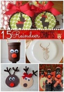 15 Reindeer Crafts