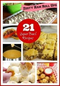 21 SuperBowl Recipes