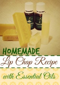 Homemade Lip Chap Recipe