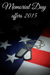 Memorial Day Offers 2015 ~ TheCentsAbleShoppin.com