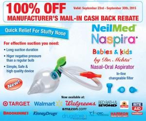 FREE NeilMed® Naspira after Rebate