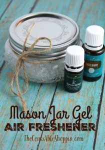 Mason Jar Gel Air Freshener