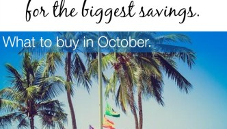 October Best Time To Buy