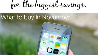 November – Best Time to Buy