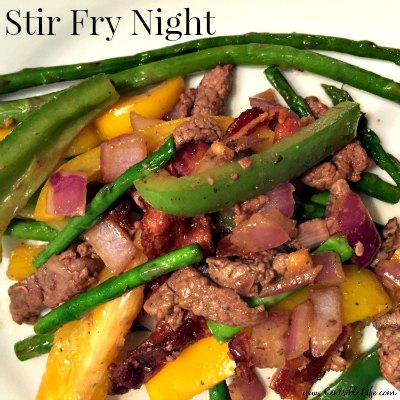 Stir Fry Night Meal