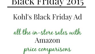 Black Friday 2015: Kohl's Black Friday Ad
