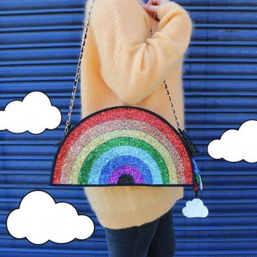 Rainbow bag via Pinterest