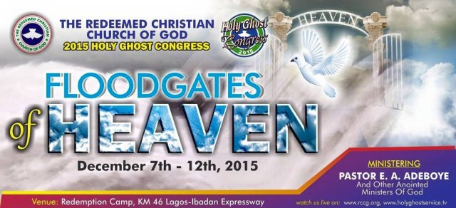 RCCG 2015 Annual Holy Ghost Congress - Floodgates of Heaven