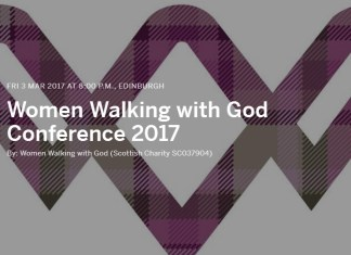 women walking with God conference