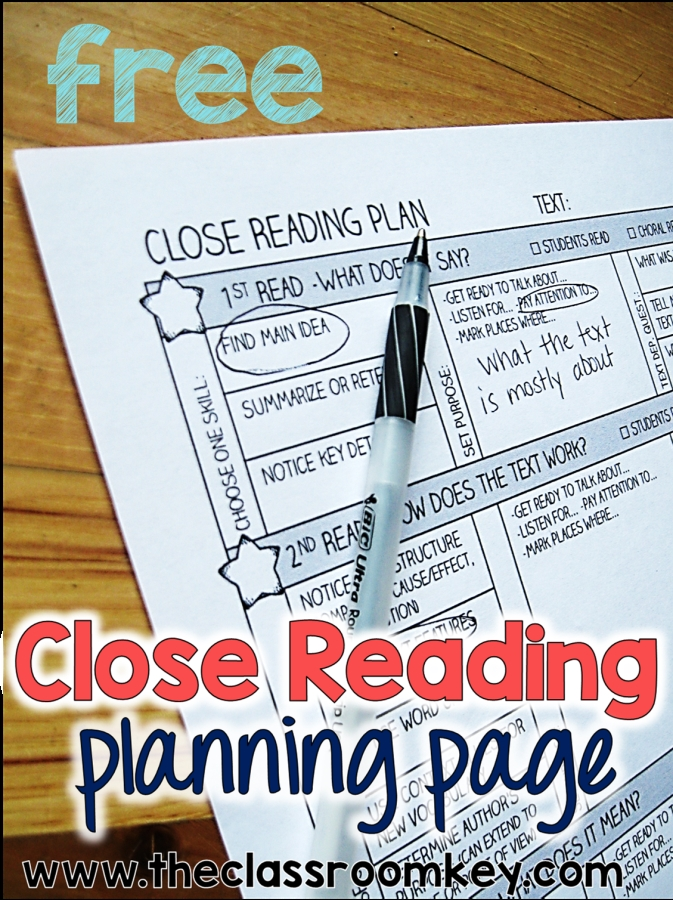 Taking the Rocket Science out of Close Reading