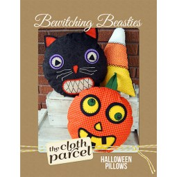 Bewitching Beasties Halloween Pillows Pattern