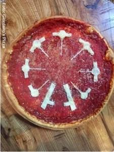 Pizza rueda de la fortuna