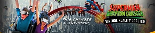 Virtual Six Flags Superman