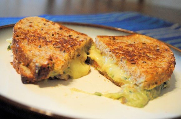 Celebrate National Guacamole Day with Guacamole Grilled Cheese!