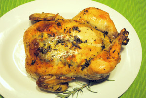 herb roasted chicken recipe garlic chicken recipe