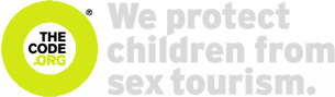 The code combats child sex tourism