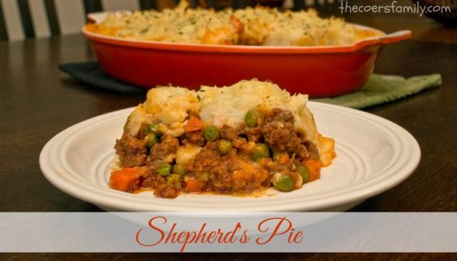 Classic Shepherd's Pie