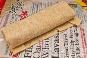 making Trim Healthy Mama burritos