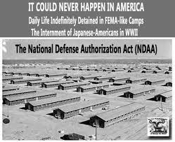 ndaa fema camps