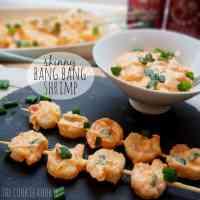 {weekend slimdown} skinny bang bang shrimp