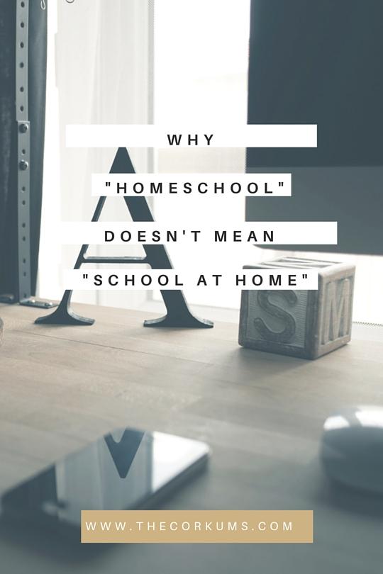 homeschool school at home