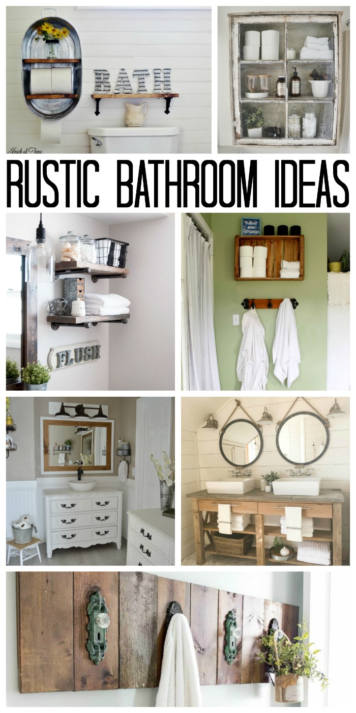 Classy Rustic Home Se Rustic Bathroom Ideas Will Inspired Your Own Home Decor Rustic Bathroom Ideas Your Home Country Cottage Decorating Ideas Rustic Mountain Home Decorating Ideas home decor Rustic Ideas For Home Decor