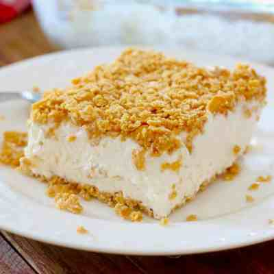 Fried Ice Cream Cake - The Country Cook dessert