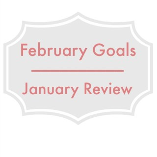 February Goals | January Review