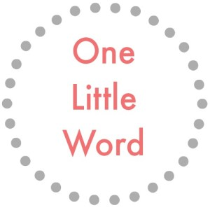 One Little Word graphic