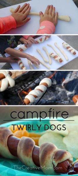 campfire hotdogs