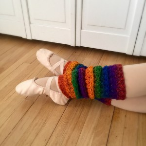Star Stich Leg Warmers