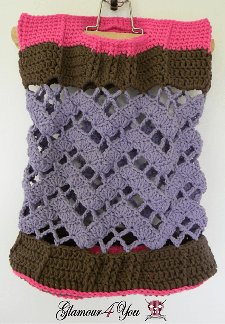 Chevron Lattice Bag