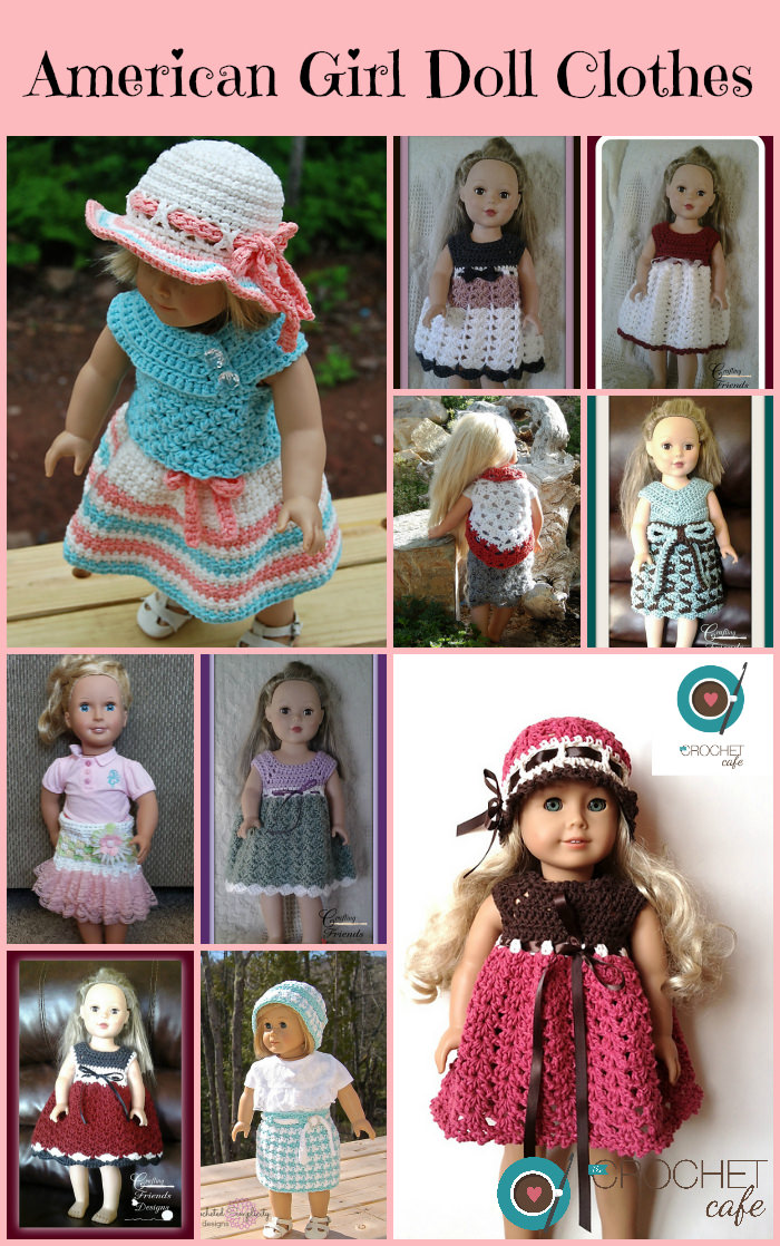 American Girl Doll Clothes – The Crochet Cafe