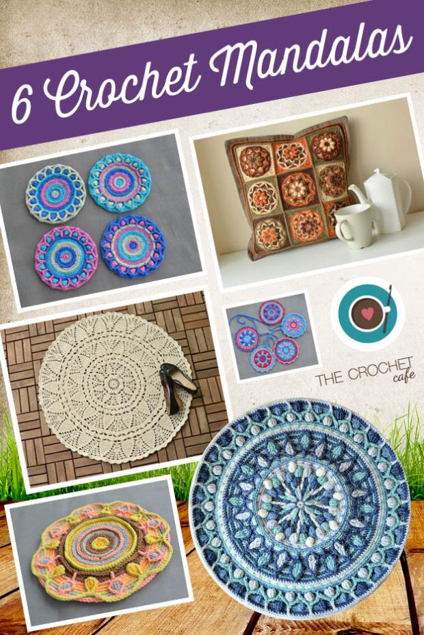 6 Crochet Mandalas (Blog)