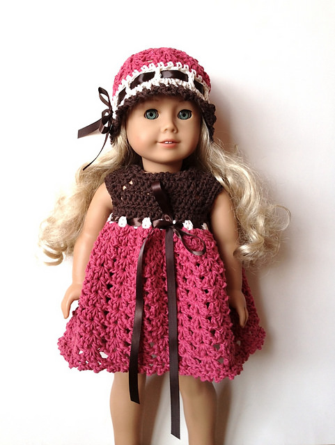 American Girl Doll & Premie Baby - Crochet by Jennifer