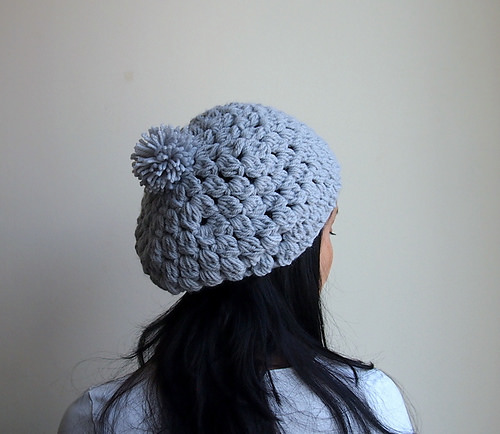 Bobble Pom Pom Slouchy by Accessorise