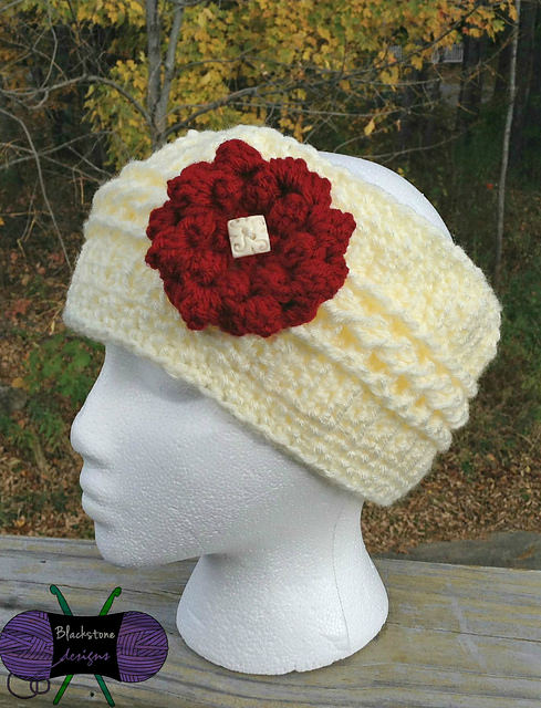 Chilly Cables Headwrap by Blackstone Designs