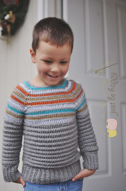 Inline Pullover by Ball Hank n' Skein