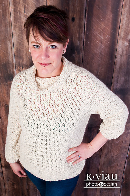 Jacqueline Pullover by ACCROchet
