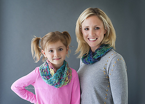 Kaleidoscpope Cowl by Danyel Pink Designs
