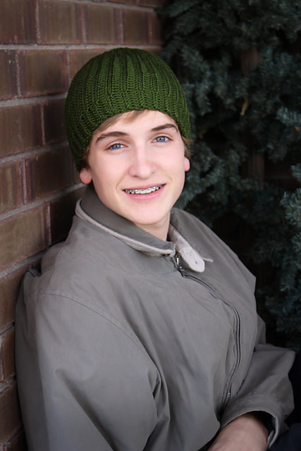 Mens Reversible Beanie by A Crocheted Simplicity