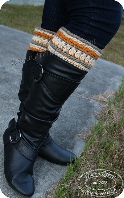 Michelle Boot Cuffs by Divine Debris