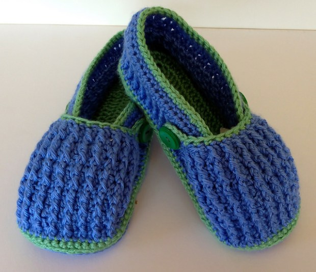 Post-It Slippers - Adult PDF 12-072 by Pattern Paradise