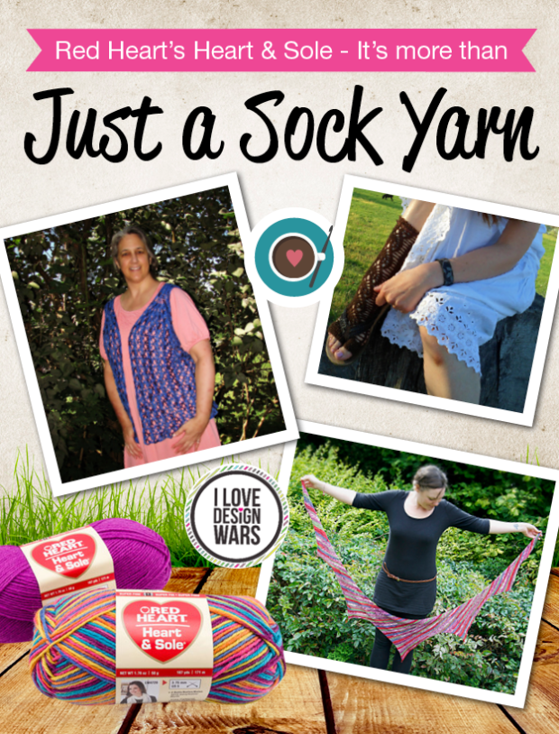 Red Heart's Heart & Sole - It's more than just a sock yarn (Blok)